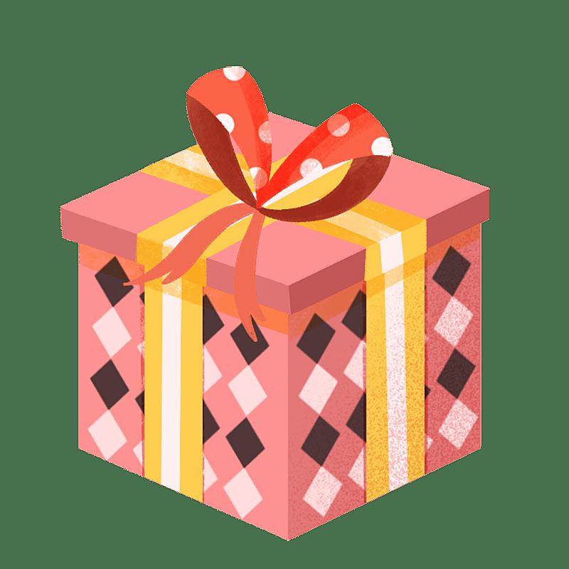 -生日装饰元素-礼盒
